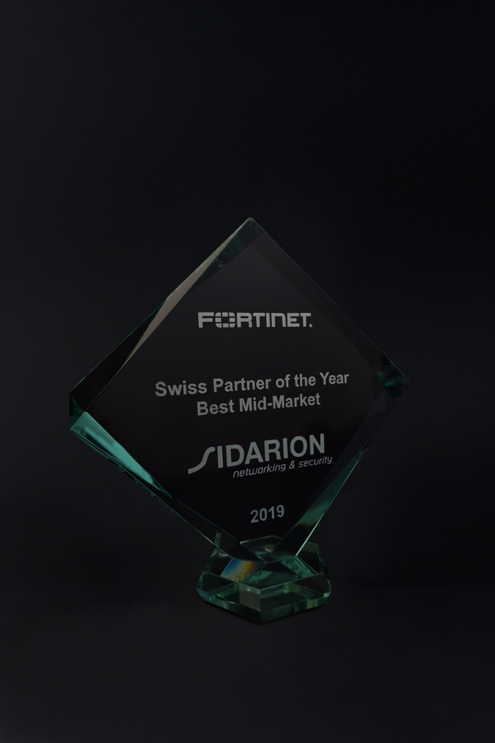 Fortinet Award Swiss Partner of the Year Best Mid-Market 2019